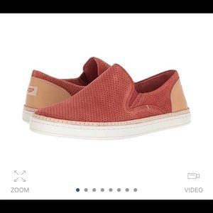 UGG Perforated Suede Slip-on Sneaker 8